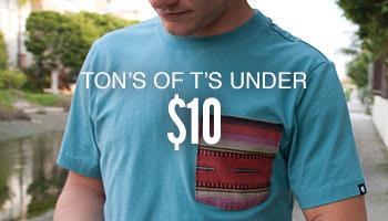 T-Shirts Under $10 ?