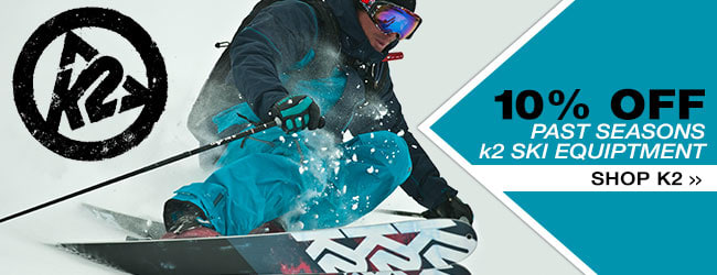 Additional 10% Off Past Seasons K2 Skis- Start Shopping »