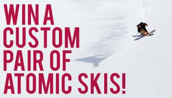 Win Custom Atomic Skis