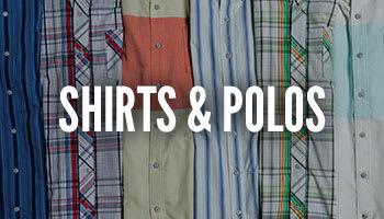 Shirts and Polos?