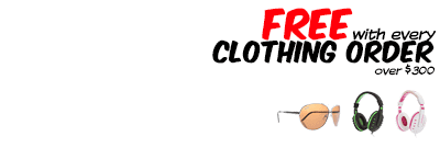 Free gear with Winter Clothes