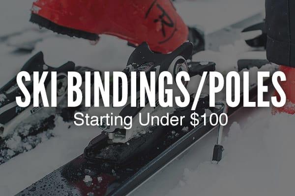 Ski Bindings & Poles