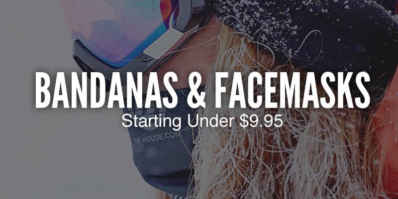Bandanas & Facemasks