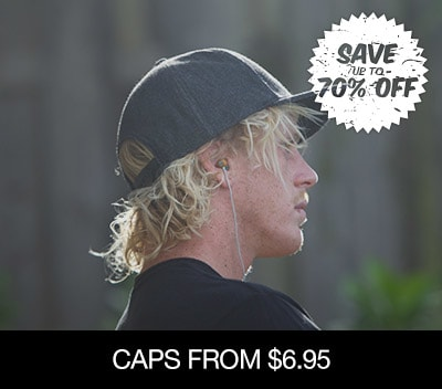 Caps From $7.95 �
