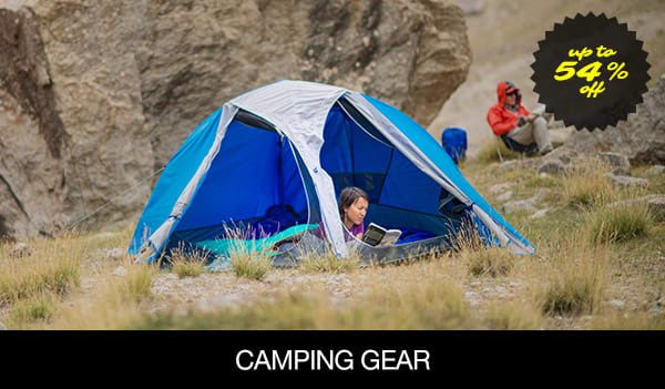 save up to 70% On Camping Gear �