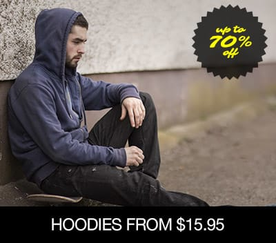 Hoodies From $14.95 �