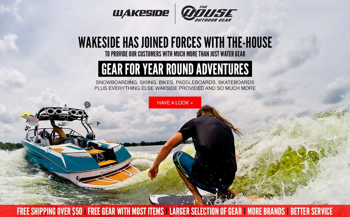 Wakeside and The House Have Joined Forces to Give You More Gear �