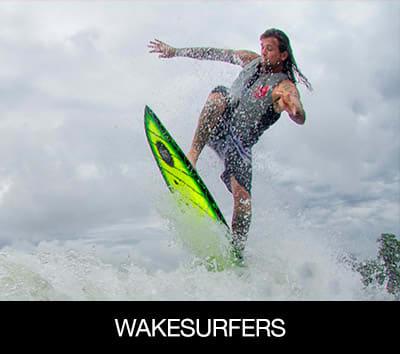 Wakesurfers �