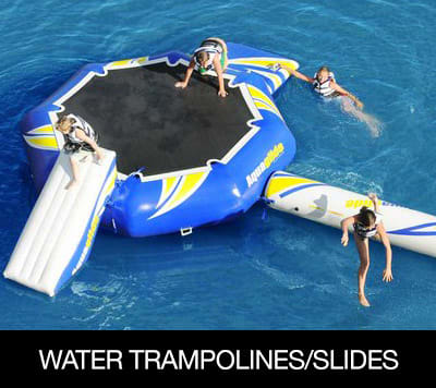 Water Trampolines and Slides  �