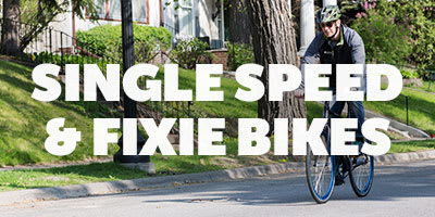 Single speed and Fixie bikes ?