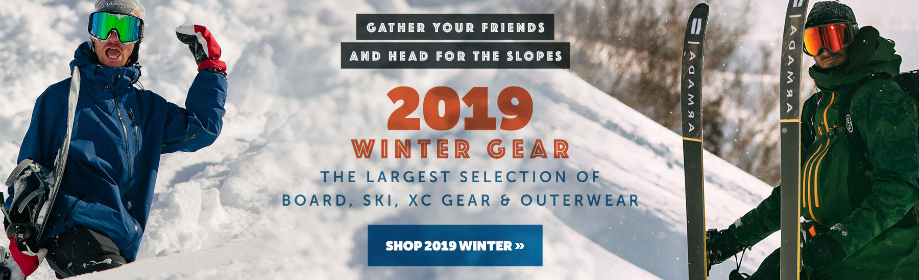 Shop 2019 Winter Gear