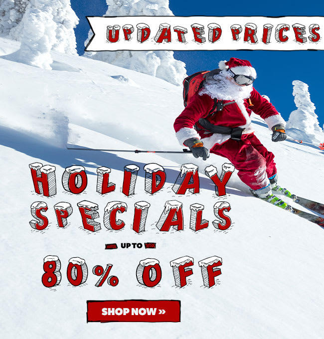 NEW MARKDOWNS - Holiday Specials