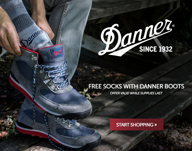 Free Socks With Danner Boots