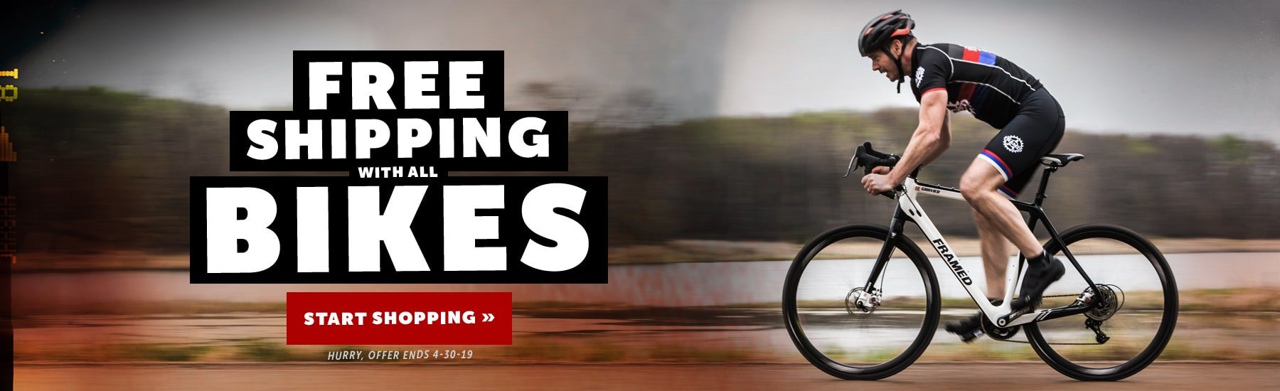Free Shipping All Bikes