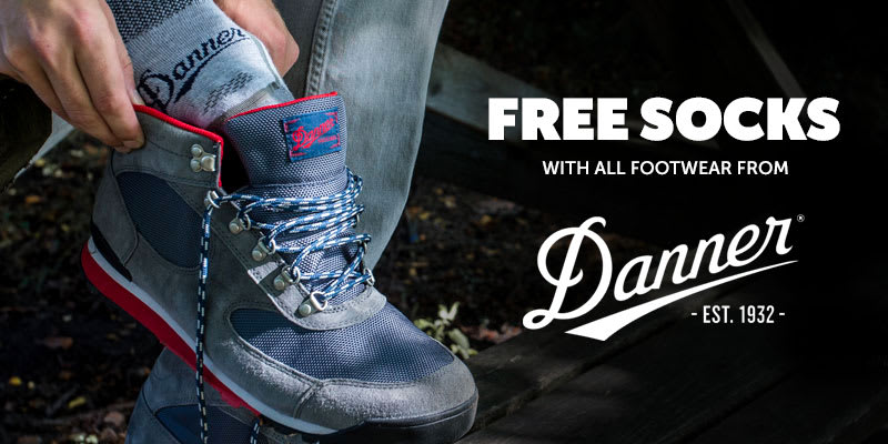 Free Sock With Danner Footwear