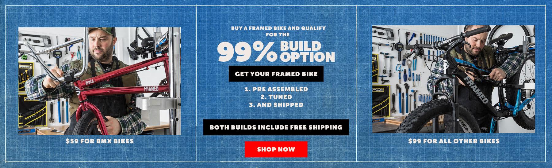 Framed Bike Build