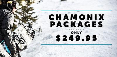 Chamonix Package Sale