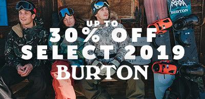 Burton Sale ?
