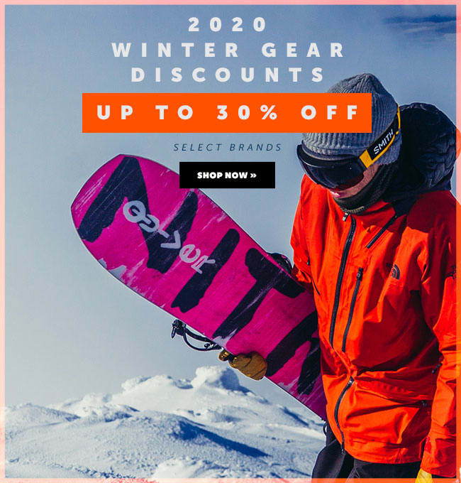 Up To 30% Off This Seasons Gear