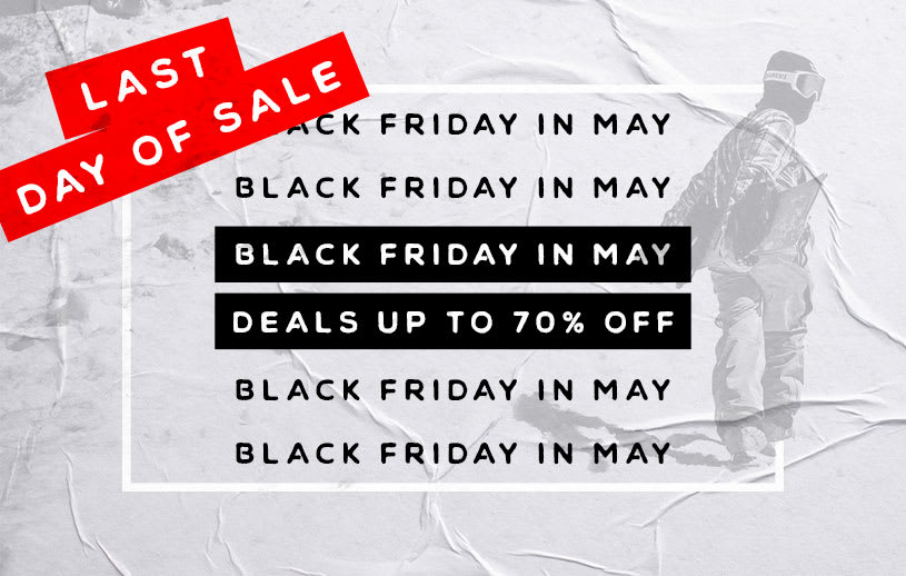 Black Friday In May