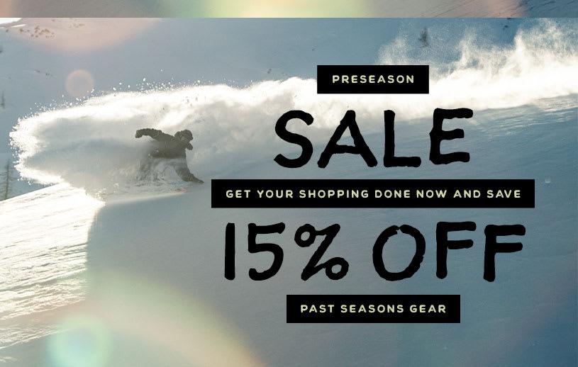 Preseaon Sale