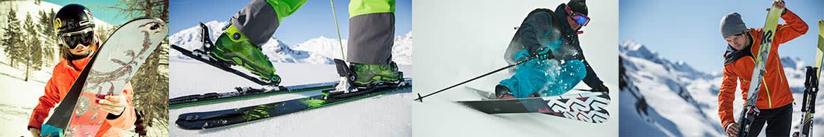 男士滑雪店
