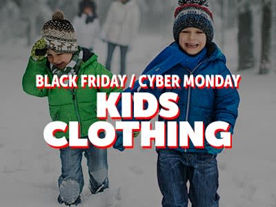 Black Friday Cyber Monday Kids Apparel �