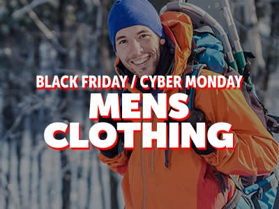 Black Friday Cyber Monday Mens Apparel �