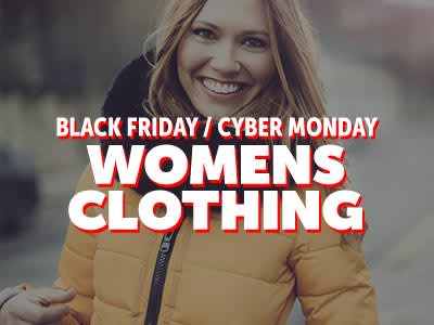 Black Friday Cyber Monday Womens Apparel �